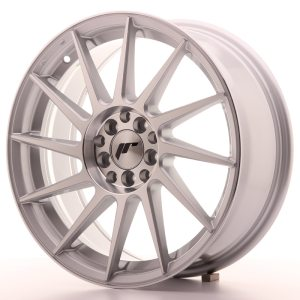 Japan Racing JR22 17x7 ET35 4x100/114 Silver Machined