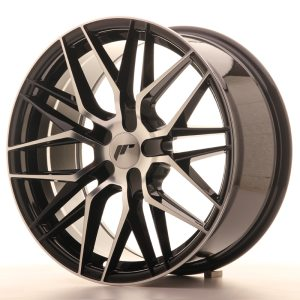 Japan Racing JR28 19x8,5 ET40 5x112 Black Machined