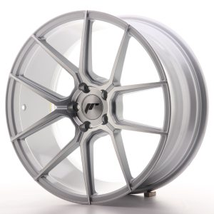 Japan Racing JR30 19x8,5 ET40 5x112 Silver Machined