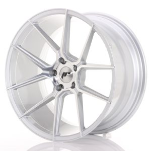 Japan Racing JR30 20x10 ET40 5x112 Silver Machined