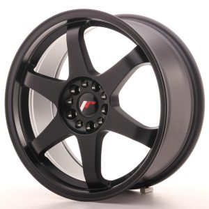 Japan Racing JR3 18x8 ET40 5x112/114 Matt Black