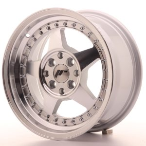 Japan Racing JR6 15x7 ET35 4x100/114 Machined Silver