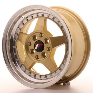 Japan Racing JR6 15x7 ET25 4x100/108 Gold
