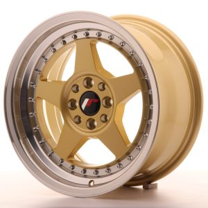 Japan Racing JR6 16x8 ET25 4x100/108 Gold