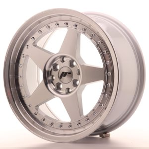 Japan Racing JR6 17x8 ET25 5x114/120 Machined Silver