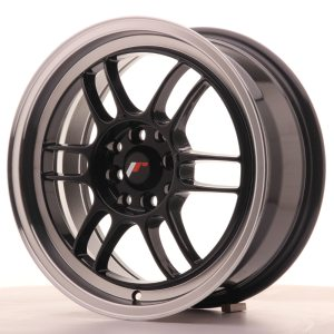 Japan Racing JR7 16x7 ET38 4x100/114 Glossy Black