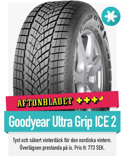 Goodyear Ultra Grip Ice 2 är ett mycket populärt dubbfritt vinterdäck för nordiskt vinterklimat